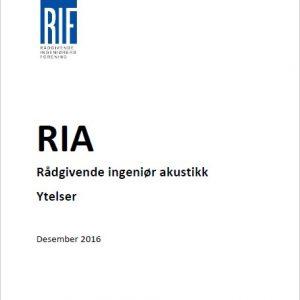 1904 - Rådgiverytelser akustikk (RIA)