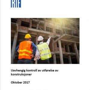 1908 - RIF-veileder - Uavhengig kontroll av utførelse av konstruksjoner