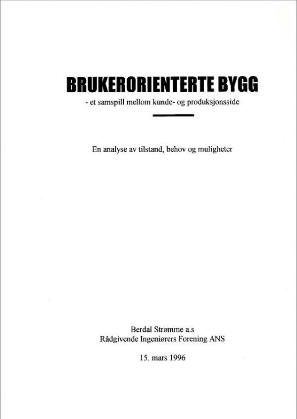 2133 - Brukerorienterte bygg (digitalt produkt)